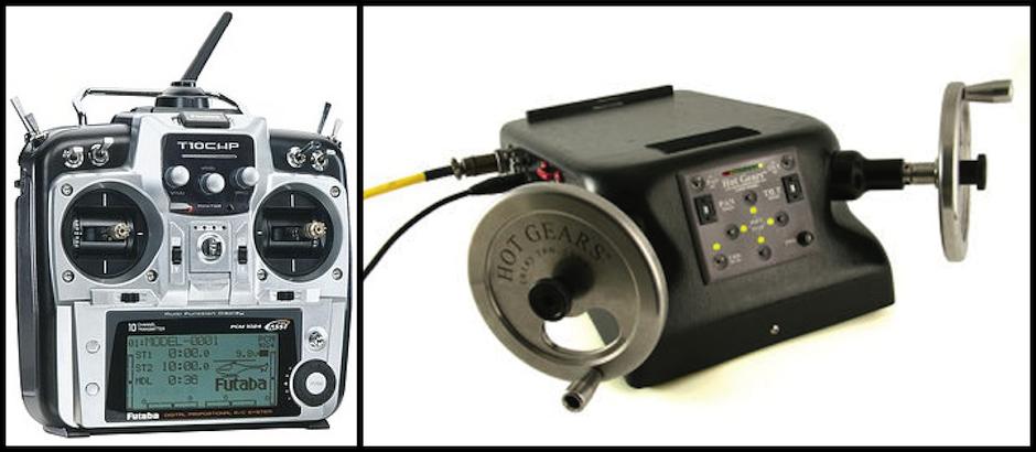 Futaba RC Controller versus a HotGears Remote System